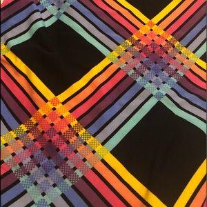 VHTF 🦄 NWT LuLaRoe TC2 Leggings Rainbow Plaid